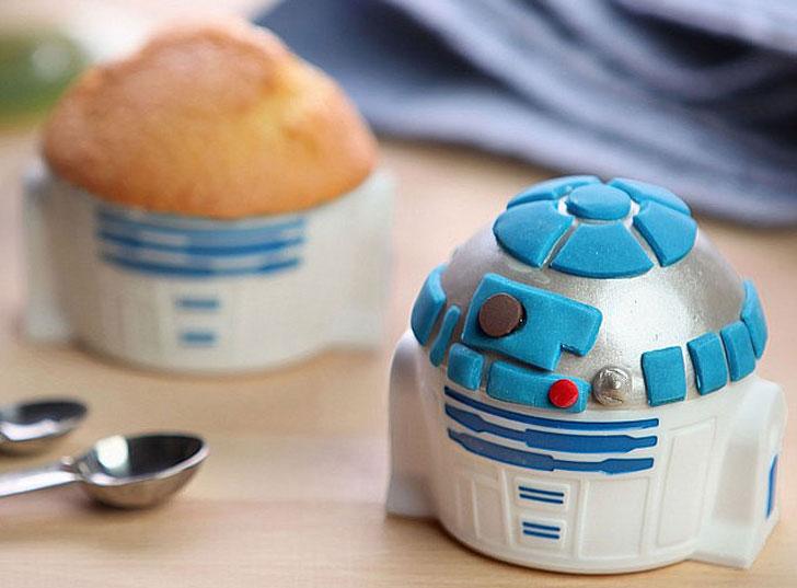 R2-D2 Cupcake Molds
