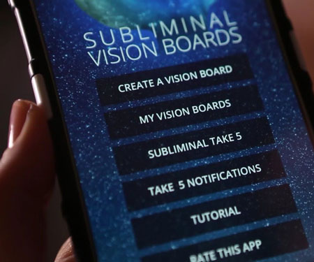 Subliminal Vision Board APP