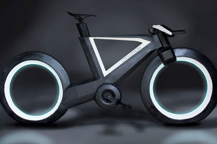 World's First Hubless Smart-Bike
