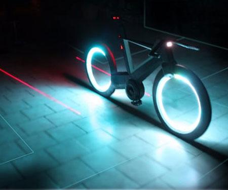 World's First Hubless Smart-Bike