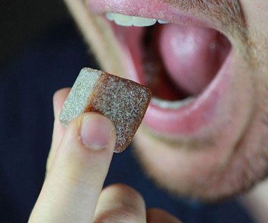 chewable coffee cubes