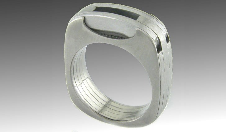 titanium multi-tool ring