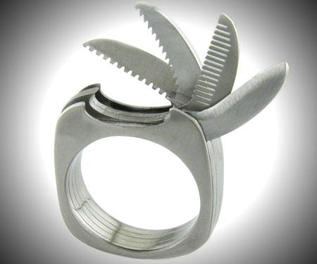 titanium multi-tool ring
