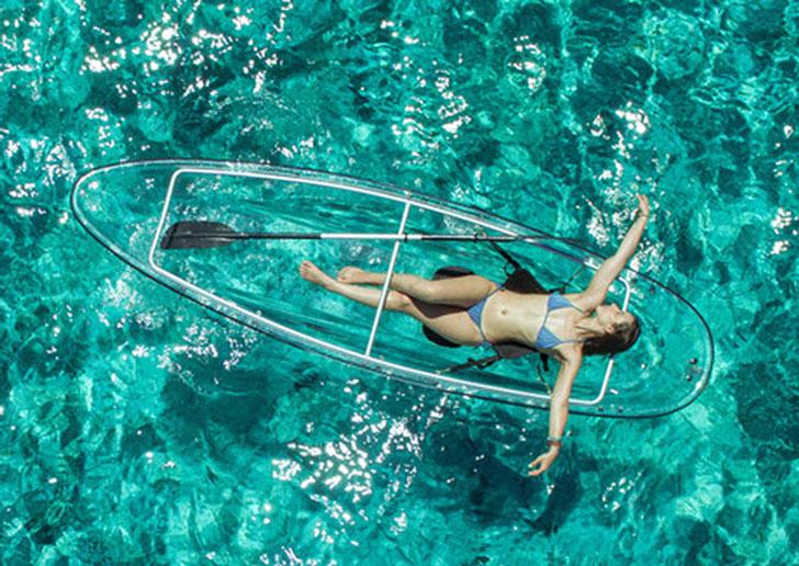 transparent kayaks