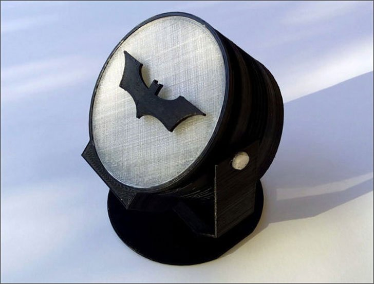Bat Signal Table Lamp