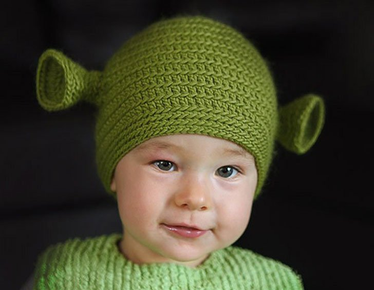 Crocheted Ogre Family Shrek Hats Awesome Stuff 365