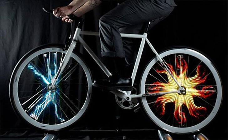 Customizable Led Bike Lights Awesome Stuff 365