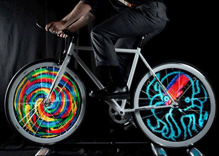 Customizable LED Bike Lights