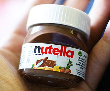 Mini Single-Serve Nutella