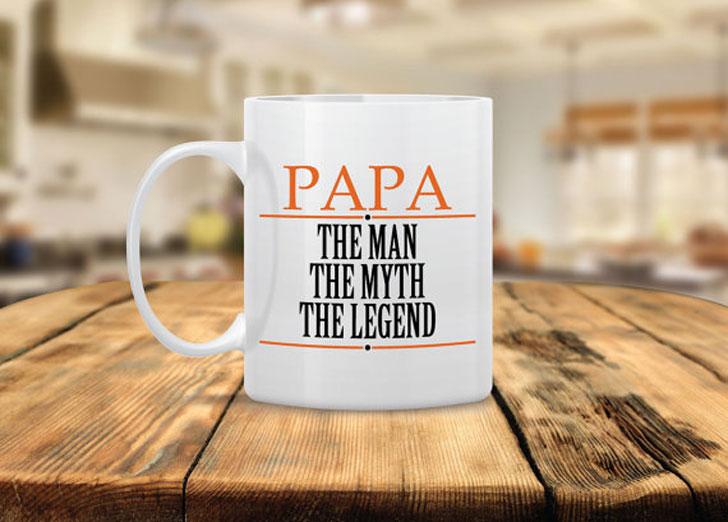 Papa The Legend Coffee Mug