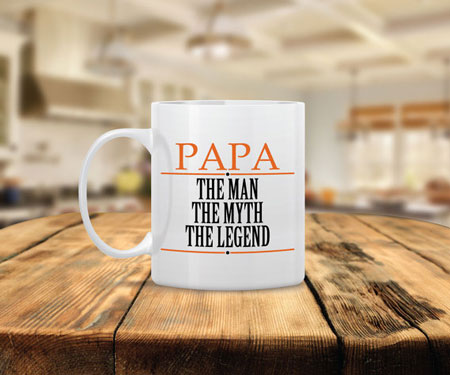 Papa The Legend Coffee Mug