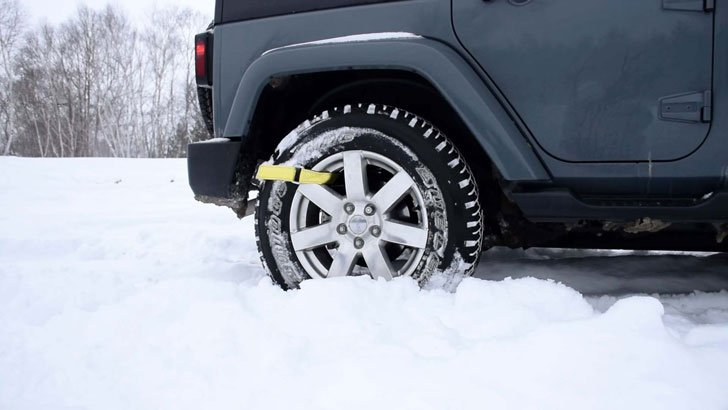 Trac-Grabber Tyre Traction Strap
