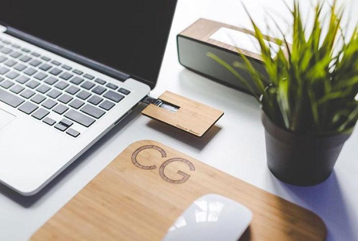 Custom Business Card USB Flash Drive