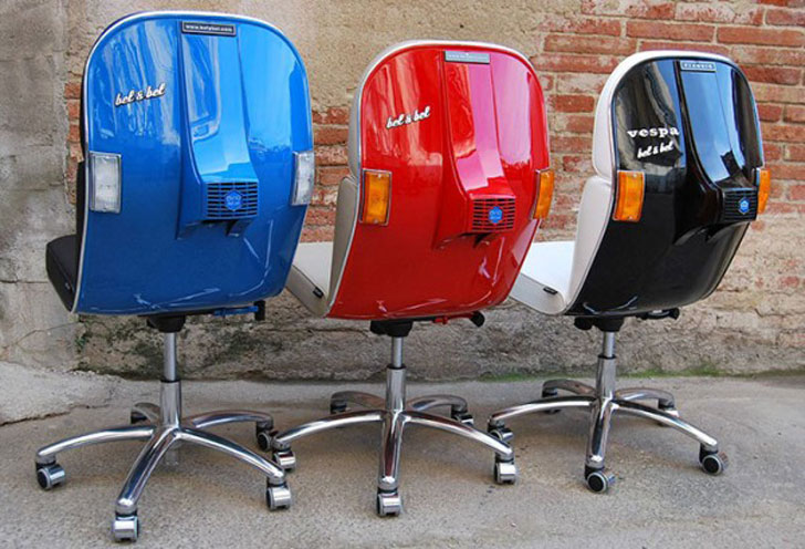 Vespa Scooter Chairs