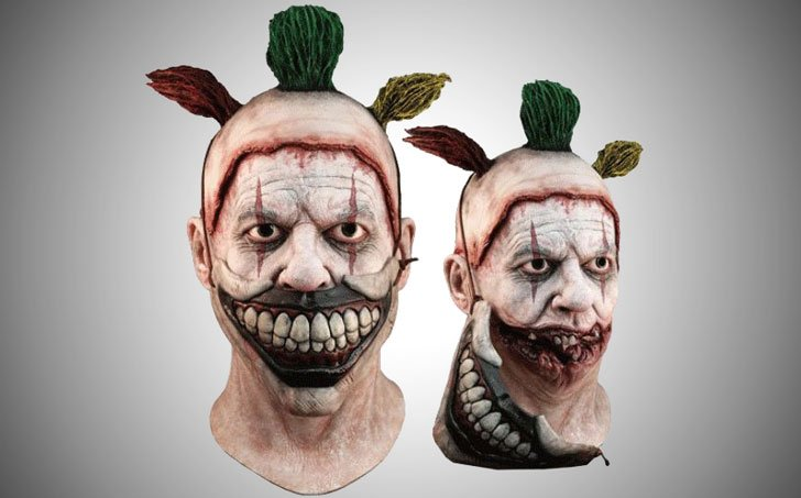 American Horror Story Twisty The Clown Mask - scary clown masks
