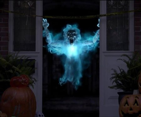 Digital Halloween Decorations