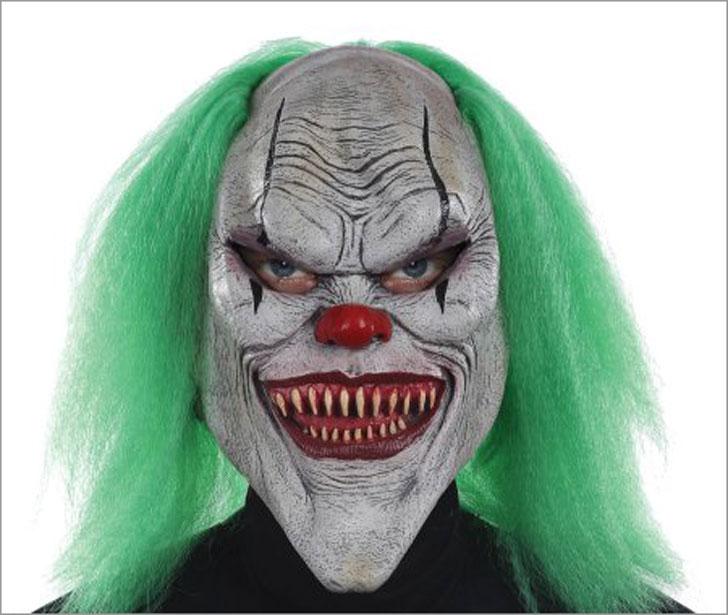 Evil Halloween Clown Mask