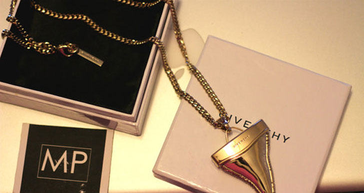 Gold Givenchy Shark Tooth Necklace - meaningful necklaces for guys