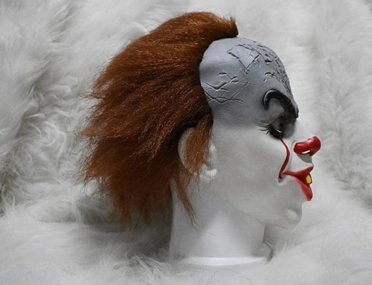 "Handmade Stephen Kings ""IT"" Scary Clown Mask"