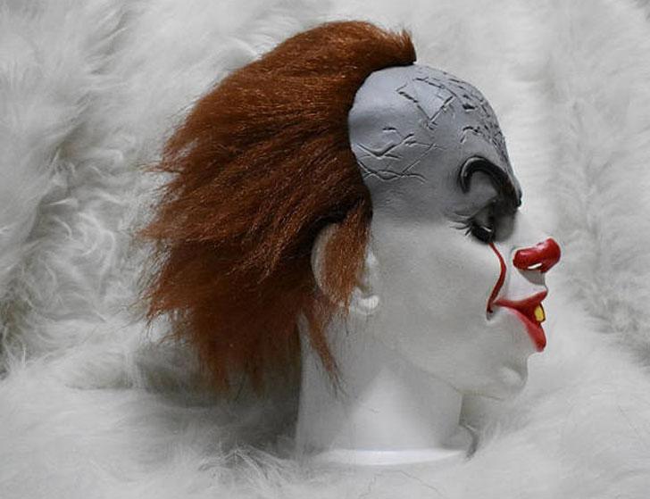 "Handmade Stephen Kings ""IT"" Scary Clown Mask"