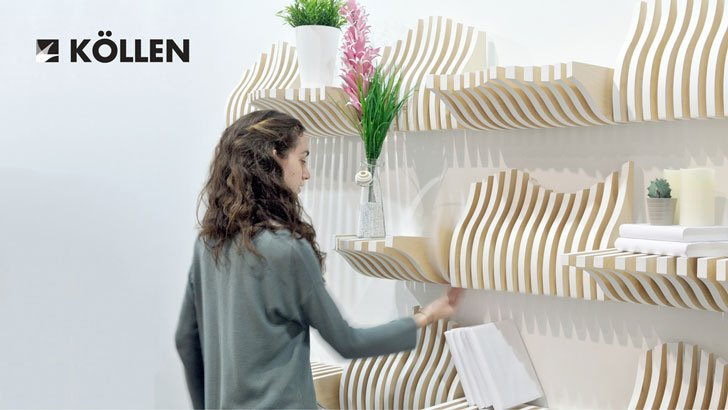 Interactive Modular Bookshelves