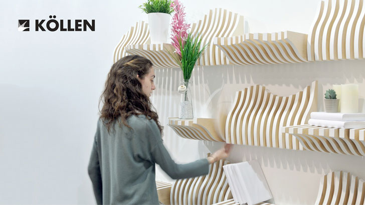 Interactive Modular Bookshelves