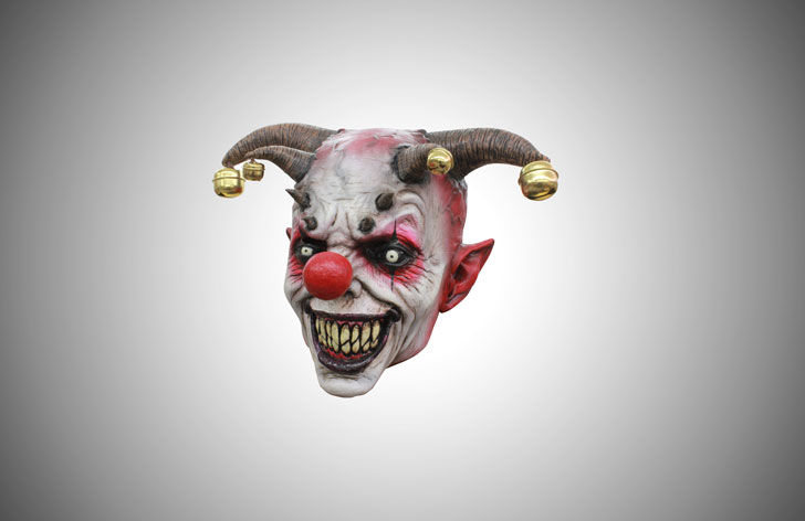 jingle jangle clown mask - scary clown masks