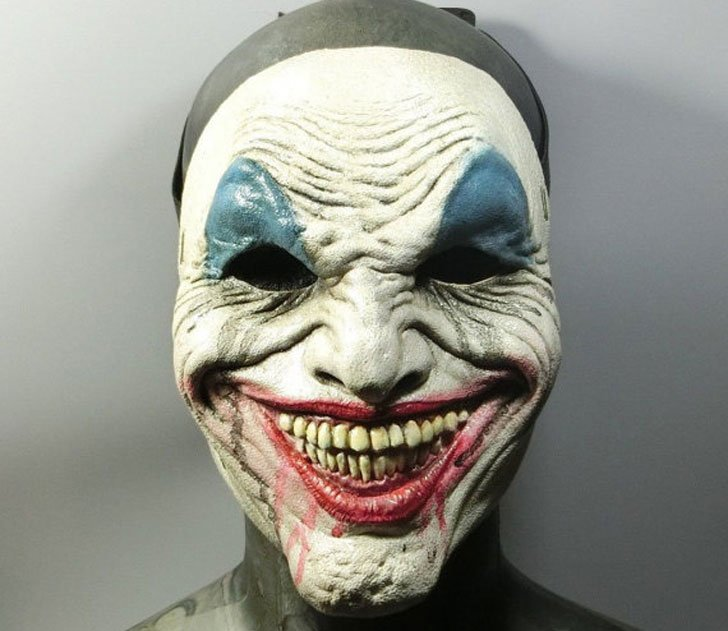 Joker NAG Halloween Clown Mask