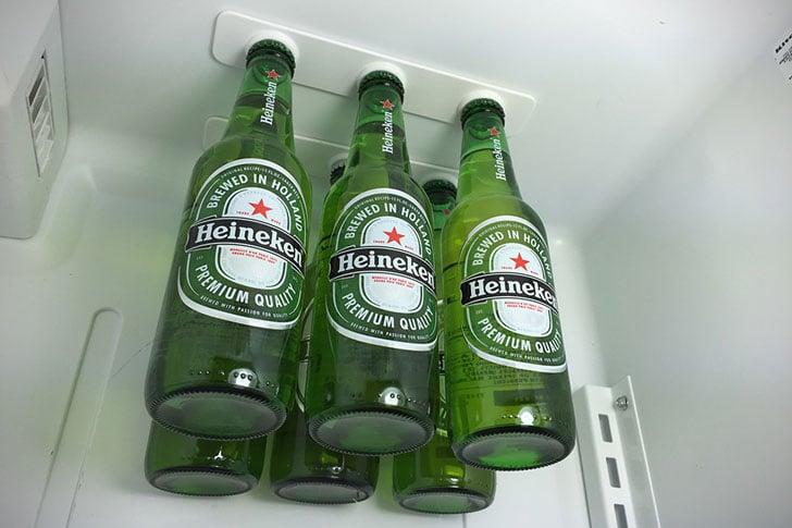 Magnetic Refrigerator Bottle Holders - bottle loft