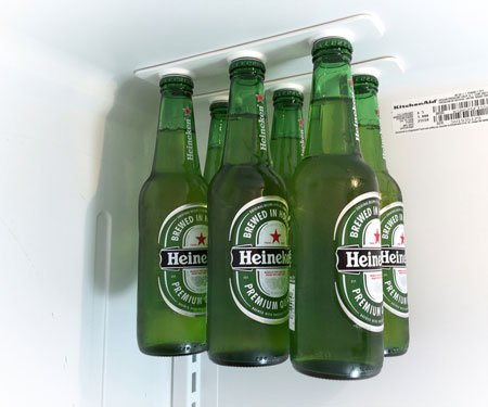 Magnetic Refrigerator Bottle Holders