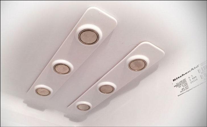 Magnetic Refrigerator Bottle Holders