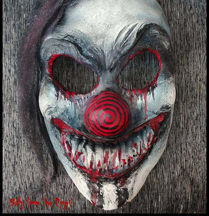 Necromantic Horror Halloween Mask