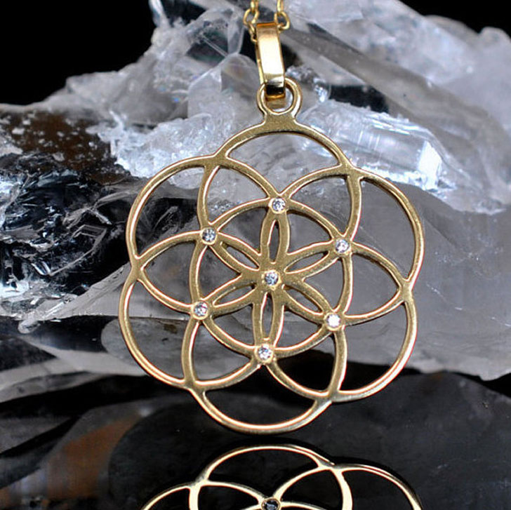 Sacred Geometry Necklace - meaningful necklaces for guys
