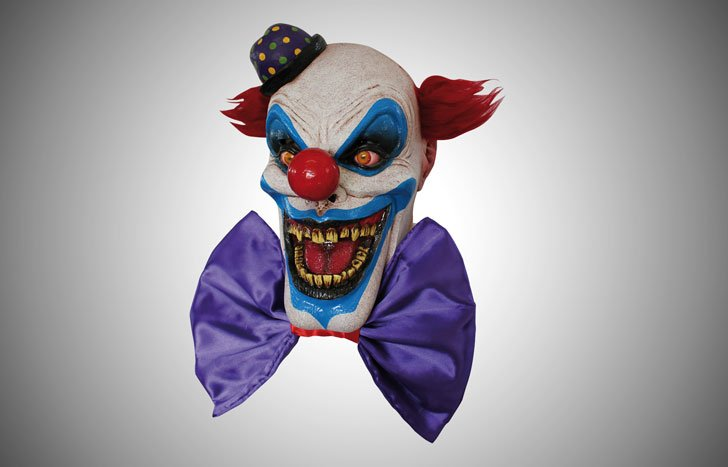 Scary Chompo the Clown Mask
