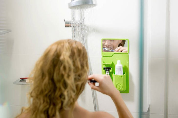 Silicone Bathroom Organizer