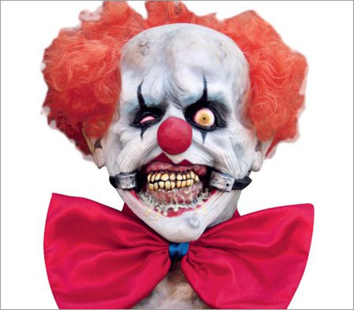 Smiley Adult Halloween Mask