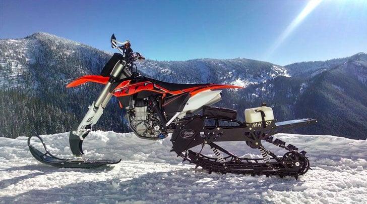 Snow Dirt Bike Conversion Kit
