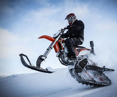 Snow Dirt Bike Conversion Kit
