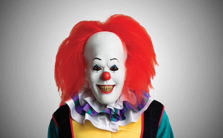 Stephen King's Pennywise Clown Mask - scary clown masks