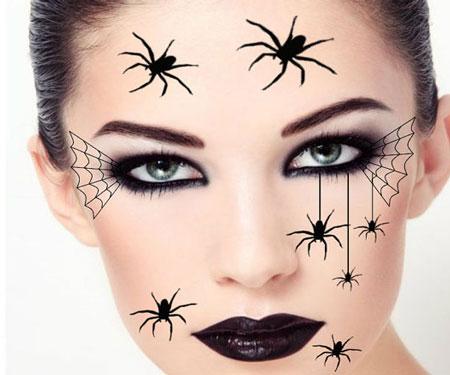 Temporary Spider Tattoos