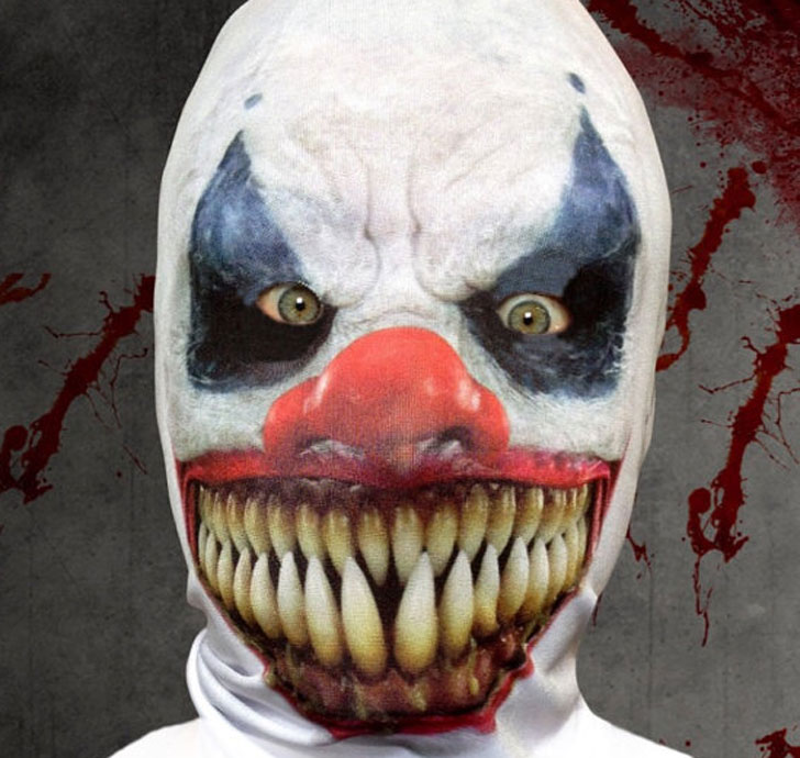The 3D Effect Killer Clown Mask
