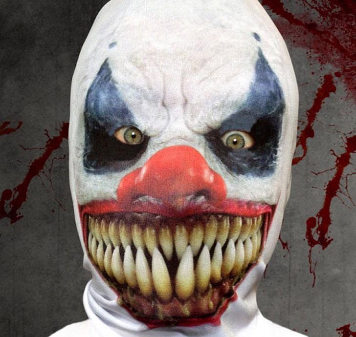 The 3D Effect Killer Clown Mask