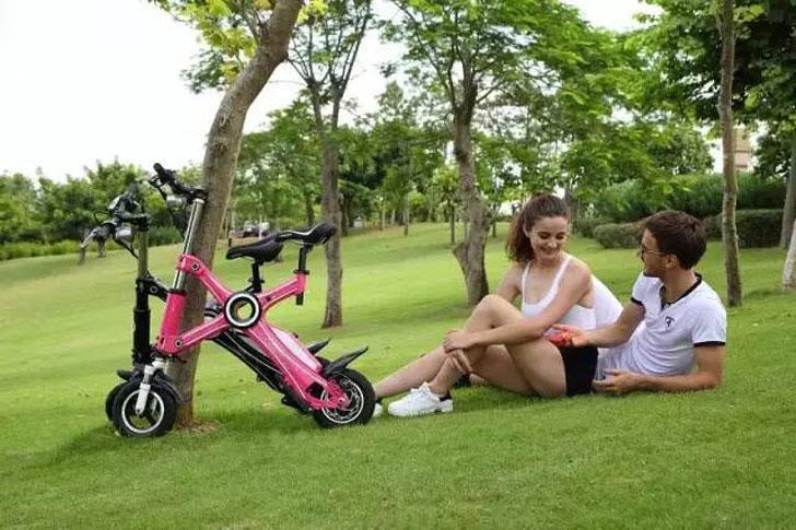The Foldable Electric X1 Bike