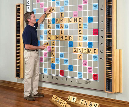 World's Largest Scrabble Board