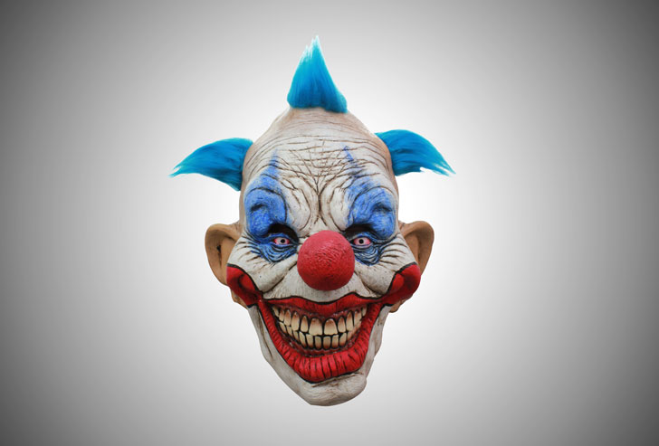 dammy-the-clown-mask - scary clown masks