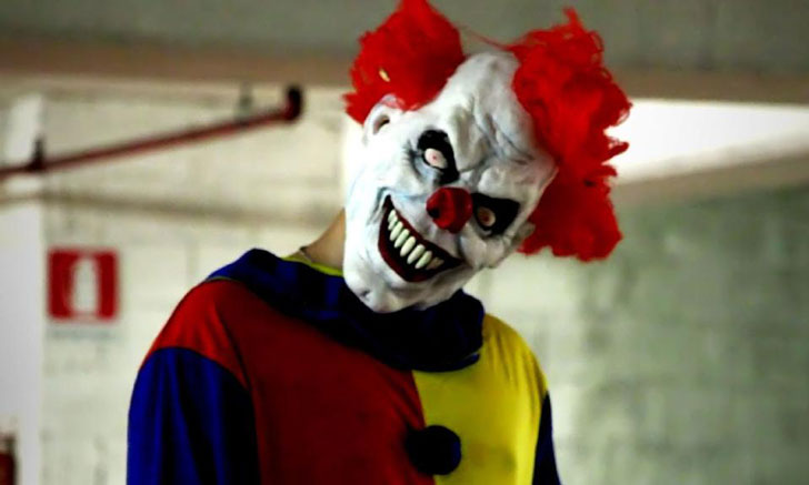 scary clown masks