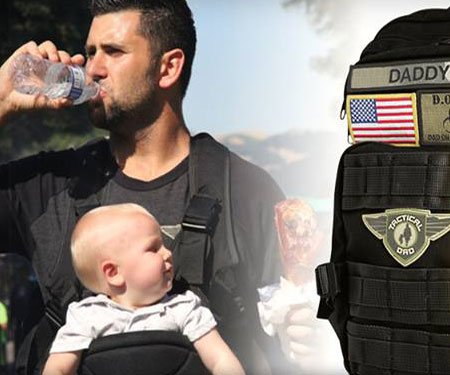 The Tactical Dad Diaper Backpack