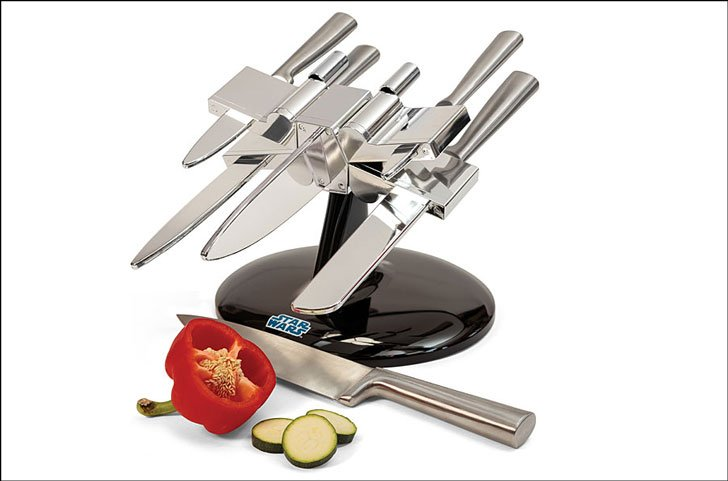 star wars knife block - kitchen gadget