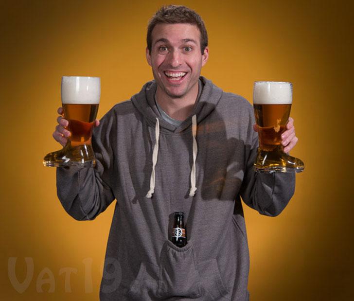Beer Pocket Hoodie