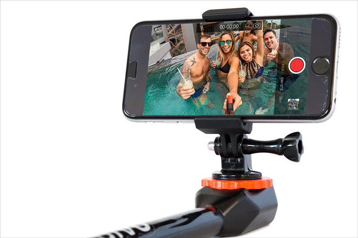 The 180° Go-Pro Adventure Stick